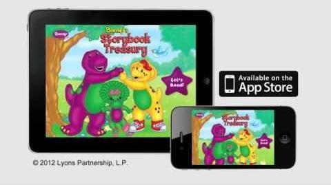 First Ever Barney Book App! Barney's Storybook Treasury!