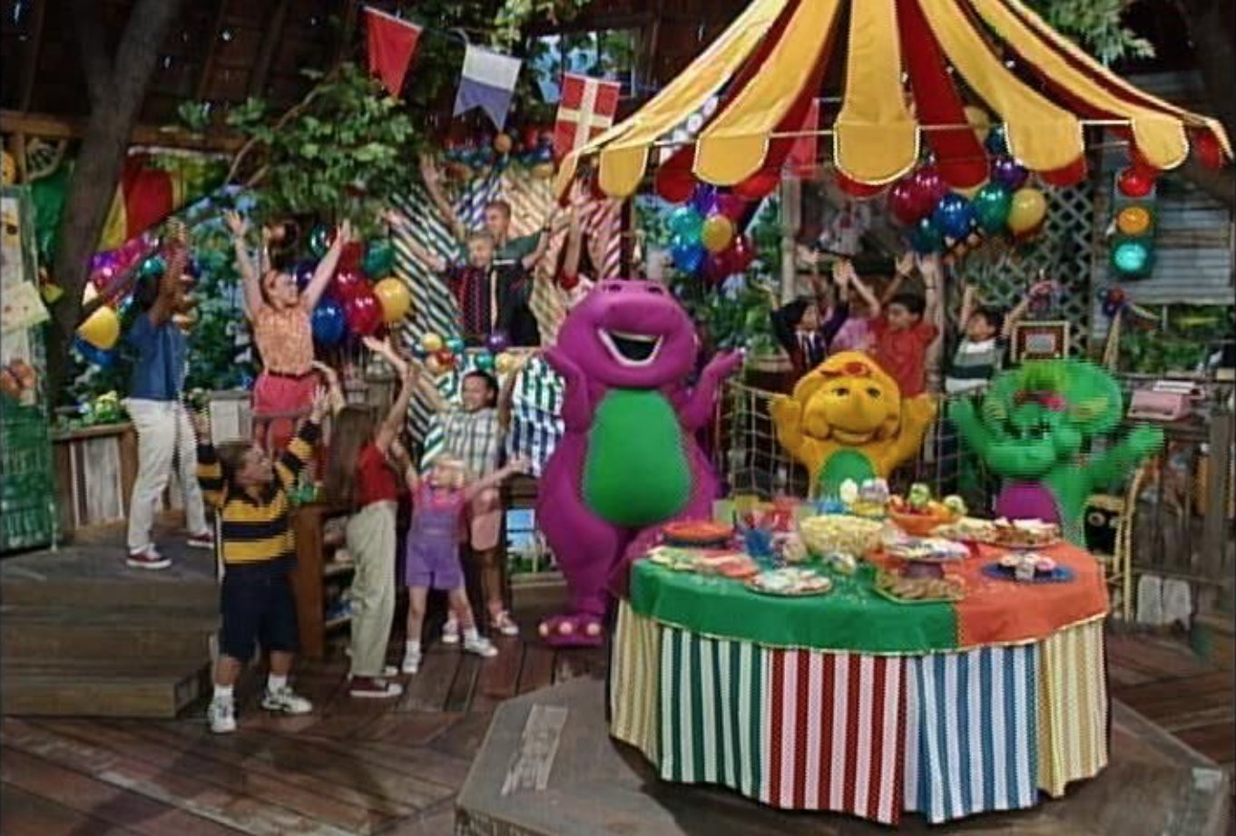 Sing And Dance With Barney Barney Wiki FANDOM Powered By Wikia - Concert barney wiki