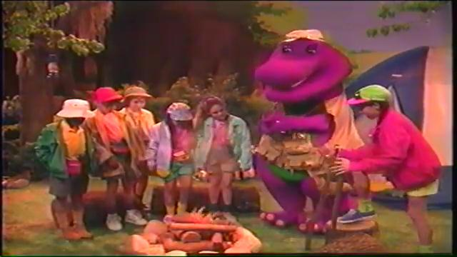 campfire sing along barney images pictures becuo