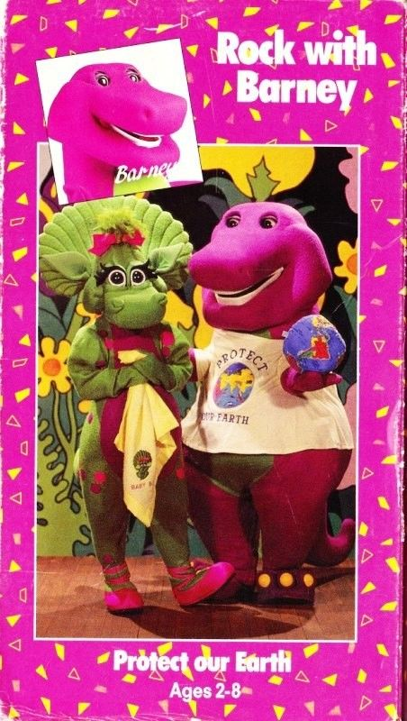 The popularity of the educational shows sesame street and barney the dinosaur