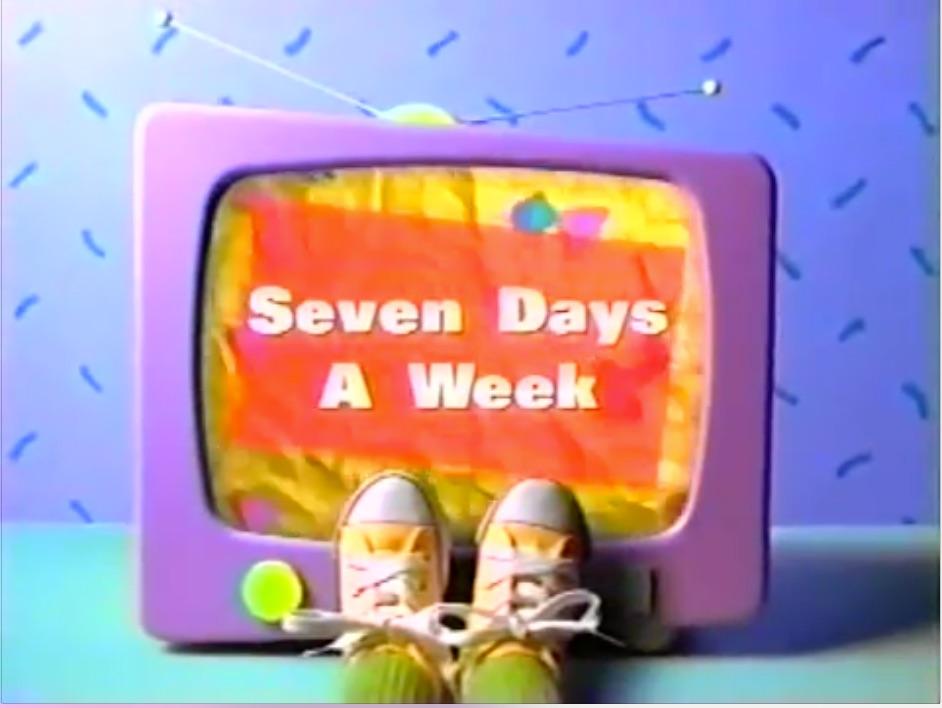 Seven Days A Week Barney & Ampfriends Wiki Fandom Powered