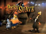 Back at the Barnyard Pecky Suave