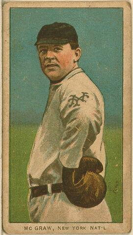 File:John McGraw Baseball Card.jpg