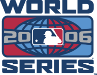 2006 World Series Logo