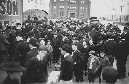 1903 world series crowd