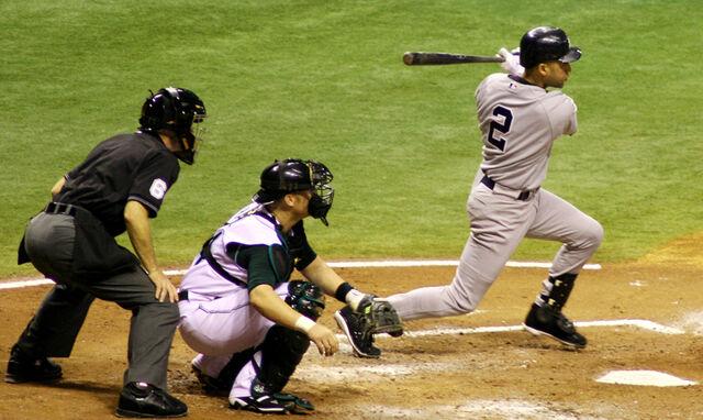 File:Jeter gets a hit.JPG