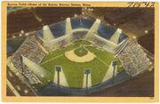 Boston Braves field postcard
