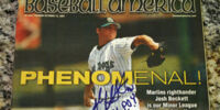 Josh Beckett/Magazine covers
