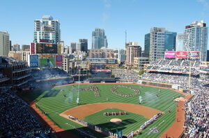Opening Day 2009 Petco Park