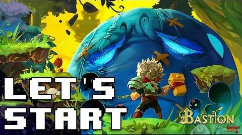Let's Start Bastion - PS4 Gameplay - Something Like That