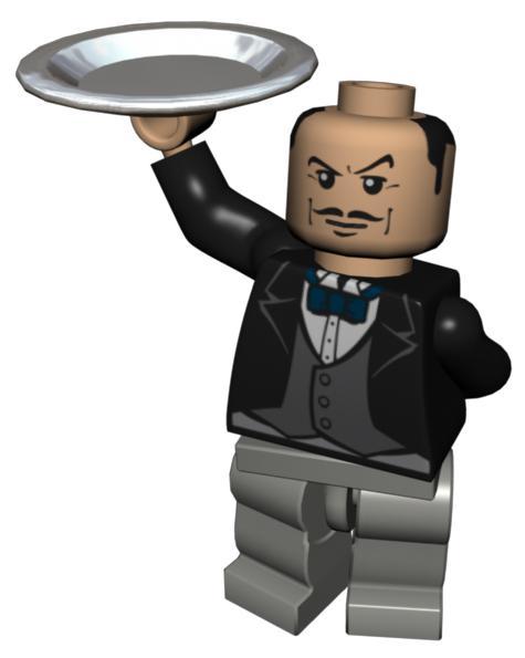 Alfred Pennyworth Lego Batman The Videogame Batman