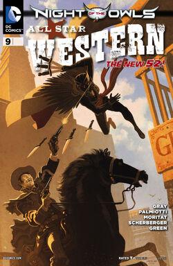 All Star Western Vol 3-9 Cover-1