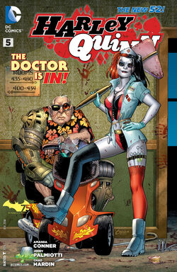 Harley Quinn Vol 2-5 Cover-1