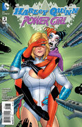 Harley Quinn Power Girl Vol 1-2 Cover-1