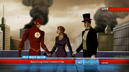 Zatara and Flash