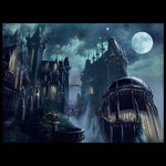 Arkham Asylum Concept Artwork