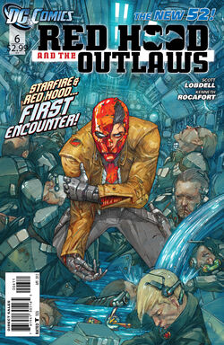 Red Hood and The Outlaws Vol 1-6 Cover-1