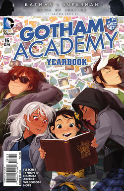 Gotham Academy Vol 1-16 Cover-1