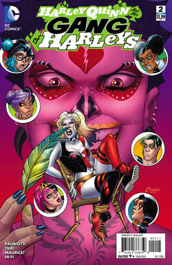 Harley Quinn and Her Gang of Harleys Vol 1-2 Cover-1