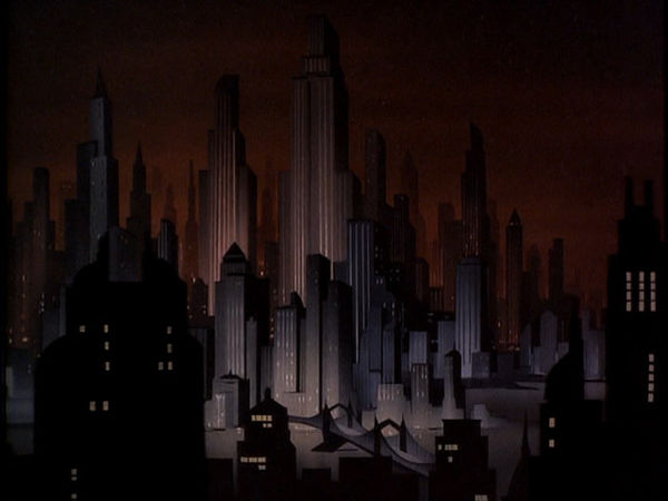 Gotham City Skyline Batman Gotham City in Batman The