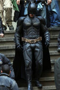 Batman close up TDKR III