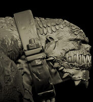 KillerCrocSculpture