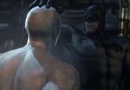 Batman confronts mr freeze
