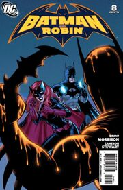 Batman and Robin-8 Cover-2