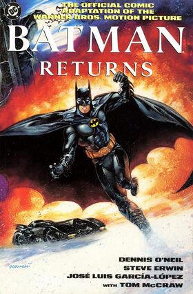 Batman Returns Comic Book cover