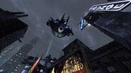BatmanArkhamCitySkyDiving