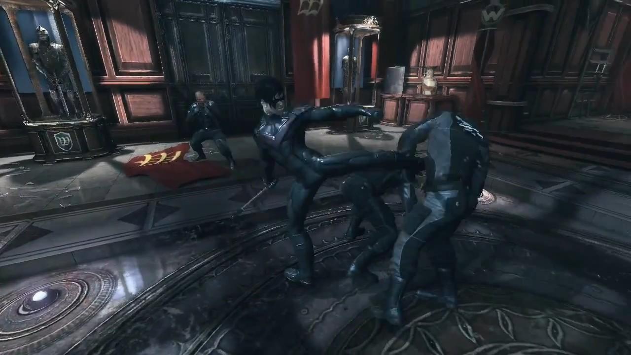 Batman Arkham City Gameplay Nightwing Download