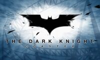 Dark knight coaster logo