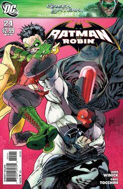 Batman and Robin-24 Cover-1