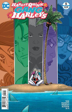 Harley Quinn and Her Gang of Harleys Vol 1-5 Cover-1