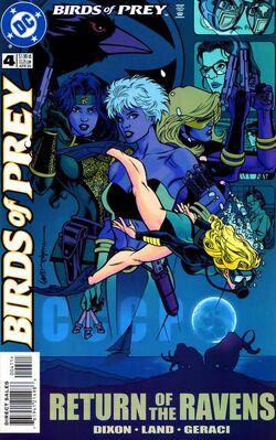 Birds of Prey 4c