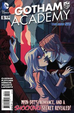Gotham Academy Vol 1-5 Cover-1