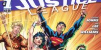 Justice League (Volume 2) Issue 1