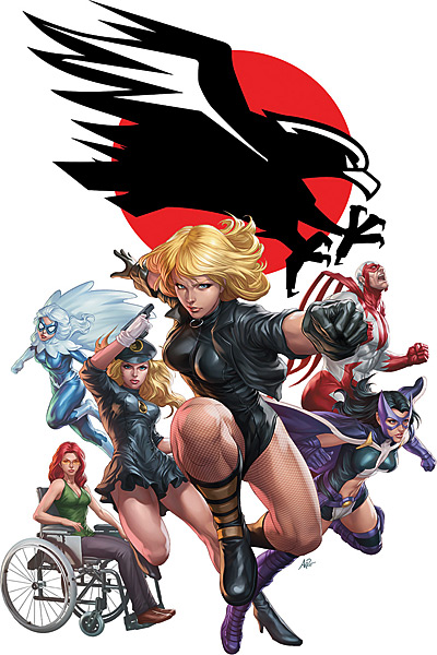 FileBlack Canary and The Black Canary Birds Of Prey