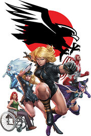 Black Canary and The Birds of Prey