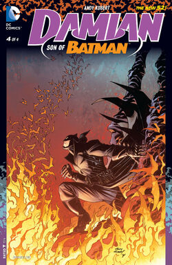 Damian - Son of Batman Vol 1-4 Cover-1