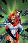 Harley Quinn Power Girl Vol 1-2 Cover-1 Teaser