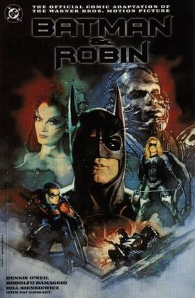 Batman and Robin Comic Book Cover