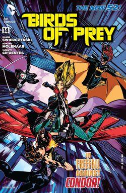 Birds of Prey Vol 3-14 Cover-1