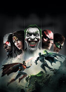 Injustice Gods Among Us Cover