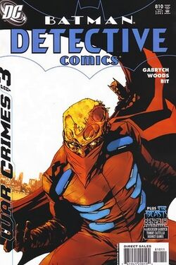 Detective Comics Vol 1-810 Cover-1
