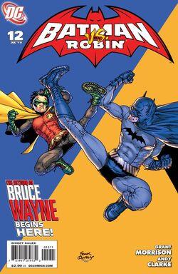 Batman and Robin-12 Cover-1