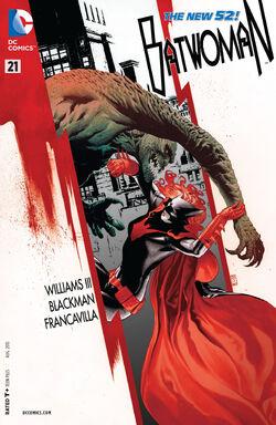 Batwoman Vol 1-21 Cover-1