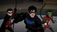 Nightwing, Robin and Beast Boy