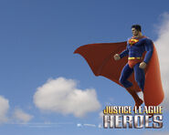 Justice League heroes Superman