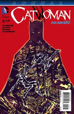 Catwoman Vol 4 Annual 2 Cover-1